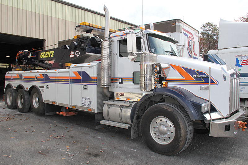 Glens Commercial Towing Heavy Duty Rotator Southern WV