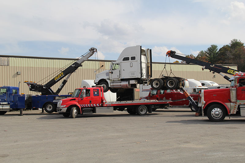 Glen's Towing Commercial Towing Heavy Duty Rotators Beckley, WV