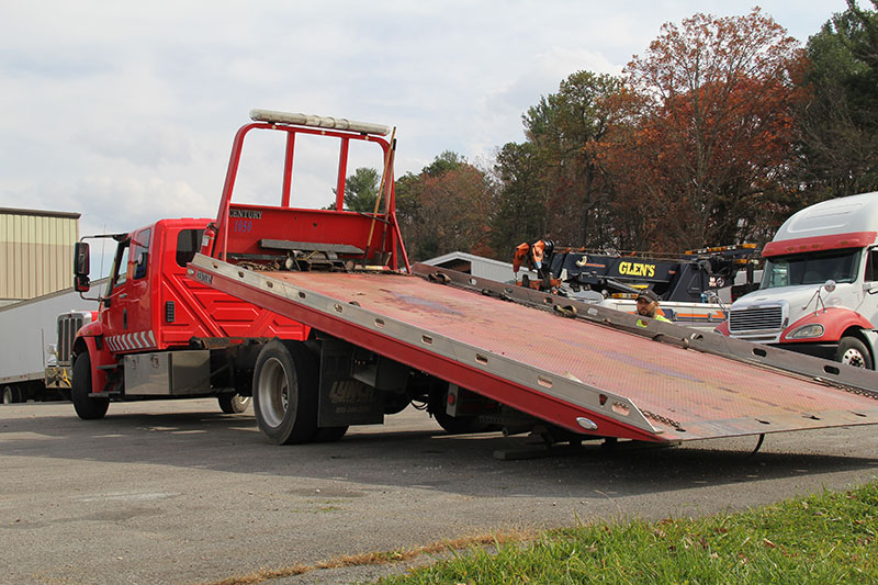 Glen's Towing Commercial Towing Wrecker Beckley, WV
