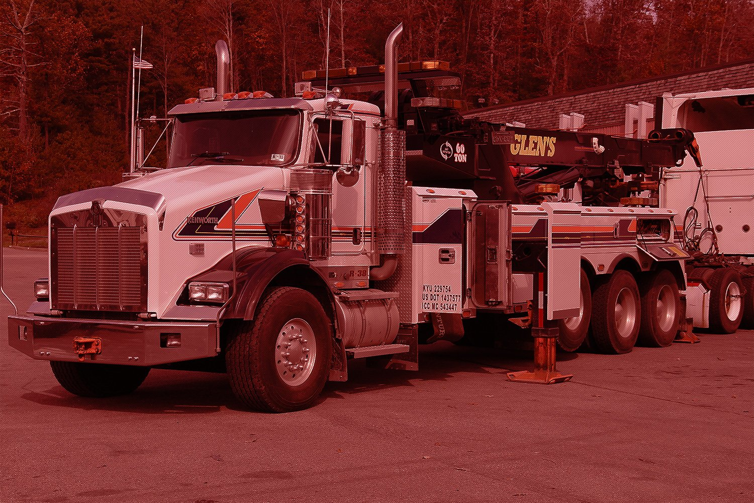 Glen's Towing Heavy Duty Rotator and Tow Truck Fleet Southern West Virginia